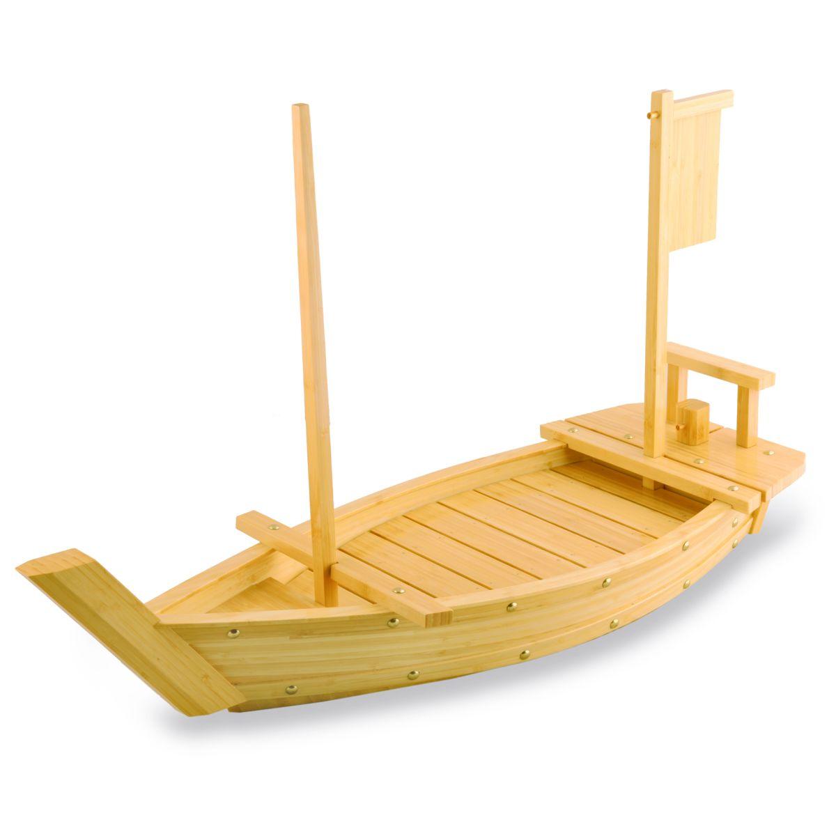 как сделать лодку из бамбука